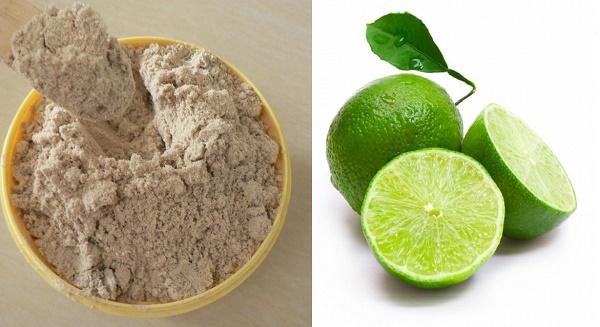 Hỗn hợp chanh và cám gạo dưỡng da mịn màng, ngăn chặn quá trình lão hóa da vô cùng hiệu quả.