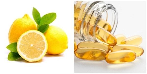Chanh và dầu vitamin E giúp loại bỏ vết rạn da nhanh chóng, không gây tổn thương làn da nhạy cảm.