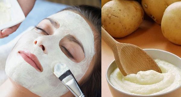 Khoai tây chứa rất nhiều vitamin C sẽ hỗ trợ làm trắng, chống lão hóa da hiệu quả.
