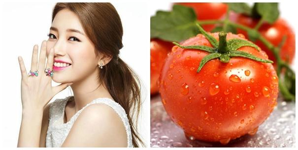 Mặt nạ từ cà chua được đánh giá là rất an toàn, dễ thực hiện với chi phí cực tiết kiệm.