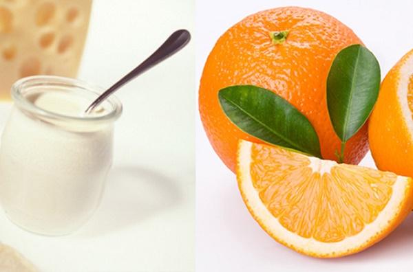 Mặt nạ từ sữa tươi và cam tươi cũng được đánh giá là một phương pháp tắm trắng toàn thân an toàn.