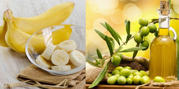 Trị tàn nhang từ chuối và dầu oliu được rất nhiều chị em yêu thích áp dụng ngay tại nhà.