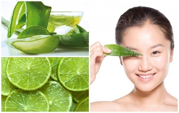 Trị rạn da bằng nha đam và chanh tươi rất an toàn cho làn da, dễ thực hiện với chi phí rẻ.