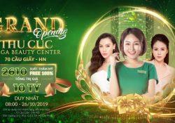Làm đẹp chuẩn giá cực sốc, duy nhất vào ngày 26/10/2019 tại Thu Cúc Mega Beauty Center 70 Cầu Giấy