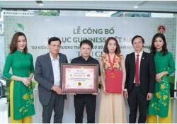 Hệ thống thẩm mỹ Thu Cúc xác lập kỷ lục Guinness tại Việt Nam